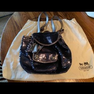 Coach sequin backpack A1169-16916